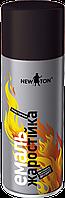 Эмаль жаростойкая аэрозоль NEW TON (Черный) 400 мл