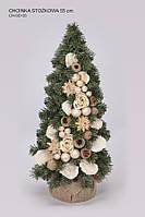 Зеленая новогодняя елка, 55 см, (handmade).