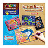 Набор для гравировки Avenir Clever Hands Scratch Board Mysterious Ocean, Bino