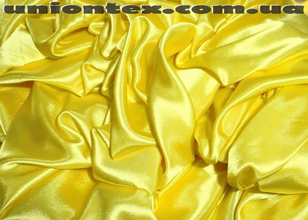 Креп-сатин желтый, фото 2