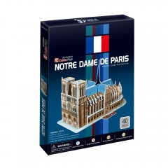 "CubicFun Трехмерная головоломка-конструктор ""Notre Dame de Paris"""