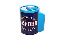 Готовальня в метал.коробке (циркуль, карандаш, точилка, набор транспортиров, резинка) OXFORD