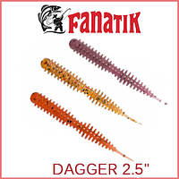 "Силикон Fanatik Dagger 2.5"" (8шт)"