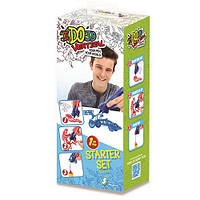 Набор для детского творчества с 3D-маркером - ТРАНСПОРТ (3D-маркер, шаблон)