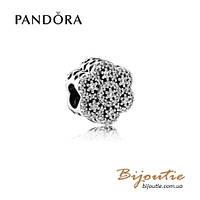 Pandora шарм ЛЕДЯНЫЕ ЦВЕТЫ #791998CZ серебро 925 Пандора оригинал