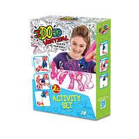 Набор для детского творчества с 3D-маркером - СКАЗКА (3D-маркер - 2 шт, шаблон, аксессуары)