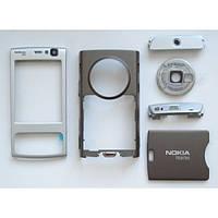Полный корпус Nokia N95 silver-gold H/C