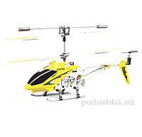 Вертолёт с 3-х канальным и/к управлением, светом и гироскопом 22 см Syma S107G  цвет - желтый