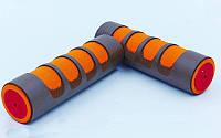 Гантели для фитнеса в неопреновой оболочке (2 x 0,75кг) FI-3210-1,5 (2шт, оливковый, серый)