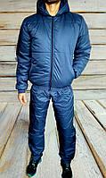 Спортивный мужской костюм зимний на синтепоне