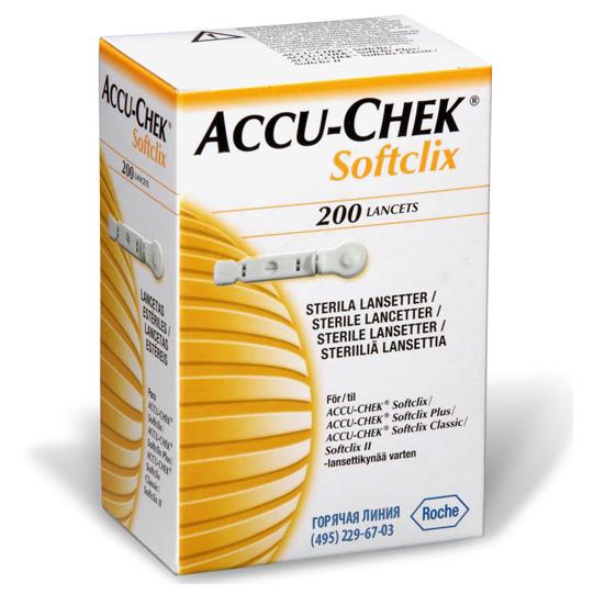 Ланцети Accu-chek softclix №200 Акку-Чек Софтклікс 200 шт