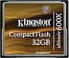 CompactFlash 32GB Kingston Ultimate 600X (CF32GB-U3)