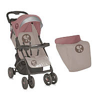 Детская коляска SMARTY + FOOTCOVER BEIGE&TERRACOTTA от 0 мес. до 3 лет ТМ Lorelli (Bertoni) 10020351