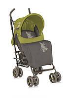 Детская коляска-трость FIESTA + FOOTCOVER BEIGE&GREEN BELOVED от 6 мес. до 3 лет ТМ Lorelli (Bertoni) 10020721