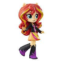 Май литл пони шарнирная мини-кукла Девушки Эквестрии Сансет Шиммер высотой 12 см. Оригинал Hasbro