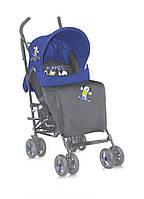 Детская коляска-трость FIESTA + FOOTCOVER BLUE&GREY PUPPIES от 6 мес. до 3 лет ТМ Lorelli (Bertoni) 10020721