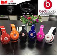 Наушники Bluetooth Monster Beats Studio STN-13. Беспроводные наушники.