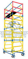 Вышка модульная металлическая ПСРВМ 1,6x0,8 (К1,6x0,8+1) с домкратами VST170811