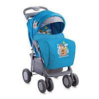 Детская прогулочная коляска FOXY + FOOTCOVER от 0 мес. до 3 лет ТМ Lorelli (Bertoni) синий 10020381
