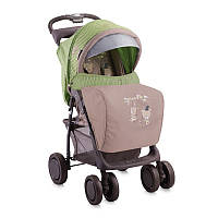 Детская прогулочная коляска FOXY + FOOTCOVER от 0 мес. до 3 лет ТМ Lorelli (Bertoni)  зелено-бежевый 10020381
