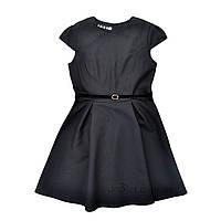 Cтрогое школьное платье для девочки Timbo P025629 р.122 черный