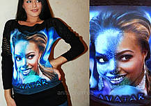 "Джемпер3D ""Аватар"" разм.46-50, фото 3"
