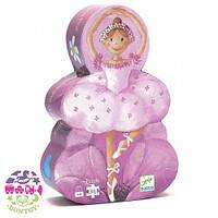 Детский пазл Балерина в коробке (36 элементов) ТМ DJECO DJ07227