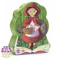 Детский пазл Красная шапочка в коробке (36 элементов) ТМ DJECO DJ07230