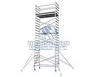 Вышка-тура алюминиевая профессиональная VIRASTAR ProTUBE L 2,56x1,36м (PROTUBE-L10)