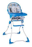 Детский стульчик для кормления CANDY (ремни, чехол) ТМ Lorelli/Bertoni синий 10100211