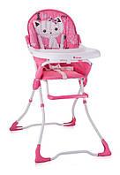 Детский стульчик для кормления CANDY (ремни, чехол) ТМ Lorelli/Bertoni розовый 10100211