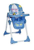 Детский стульчик для кормления YAM YAM (поднос, игрушка, чехол) ТМ Lorelli/Bertoni синий SEA