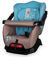 Детское автокресло BUMPER BEIGE&BLUE GIRAFFE 9-18 KG от 1 года до 4 лет ТМ Lorelli/Bertoni 10070171