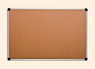 Доска настенная пробковая 100х180 см в алюминиевой рамке ABC Office 131018