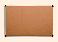 Доска настенная пробковая 90х120 см в алюминиевой рамке ABC Office 139012