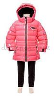 Зимняя куртка PUFFYS для девочки от 2 до 6 лет (р. 92-116) ТМ Deux par Deux R 818-710