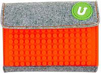 Кошелек Upixel Rainbow-Оранжевый на липучке детский / подростковый ТМ Upixel WY-B007E