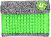 Кошелек Upixel Rainbow-Салатовый на липучке детский / подростковый ТМ Upixel WY-B007K
