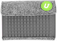 Кошелек Upixel Rainbow-Серый на липучке детский / подростковый ТМ Upixel WY-B007V