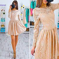 Платье женское 33285 Кружевное платье