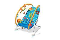 Массажное развивающее кресло-качалка «Подводный мир» для детей с рождения ТМ Tiny Love 1802706130