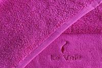 Полотенце Le Vele сауна ярко малиновое