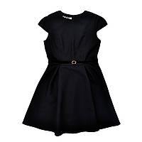 Теплое школьное платье для девочки Alice Timbo P026022 р.122 черный