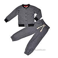 Детский трикотажный спортивный костюм Timbo K025476 р.164 серый