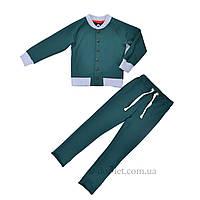 Модный детский спортивный костюм Timbo К010183 р.122 зеленый