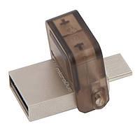 Флеш-накопитель USB 32Gb KINGSTON OTG Drive DT MicroDuo USB 2.0 (DTDUO/32GB)