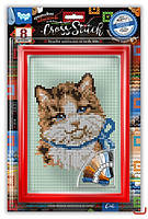 Набор для творчества Вышивка крестиком на канве Cross Stitch Danko Toys