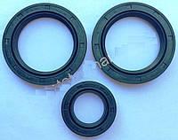 Комплект сальников редуктора 25*40*7-1 шт.: 45*62*8-2 шт. для двигателя мотоблока 178/186F