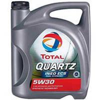 Масло синтетика Тотал 5w30 Quartz INEO ECS 5L для Ситроен Пежо