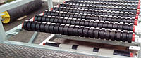 Обрезинивание роликов конвейеров резиновыми кольцами